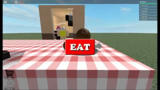 Roblox Normal Elevator with Rusherboy Fried Chicken Eating Champion of the World
