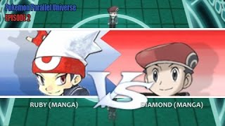 Pokemon X and Y WiFi Battle: Ruby Vs Diamond