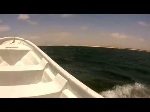 Riu Karamboa HD - Cape verde - Boat trip past the hotel and beach