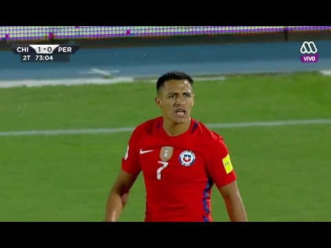 Alexis Sánchez vs Perú - World Cup Qual. 11/09/2016 HD 720p