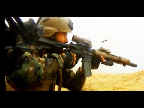 MARSOC Operators Engage Enemy Fighters