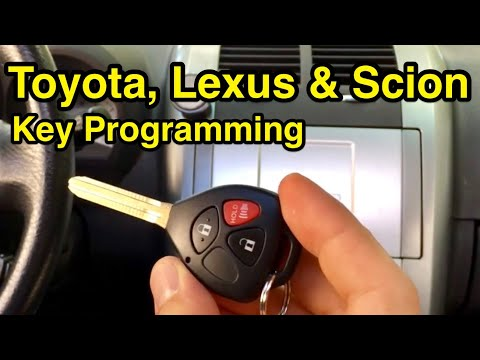 How to program any Toyota, Lexus, or Scion chip key