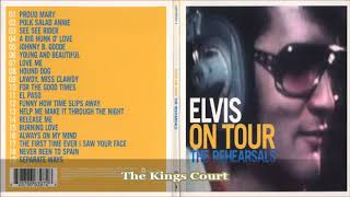 Elvis Presley - Separate Ways - On Tour - The Rehearsals