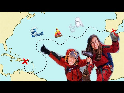How Do You Cross The Atlantic, Exactly?  (The Atlantic Route Explained)