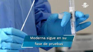 La empresa Moderna, dijo que  las pruebas clínicas no darán resultados antes del 25 de noviembre