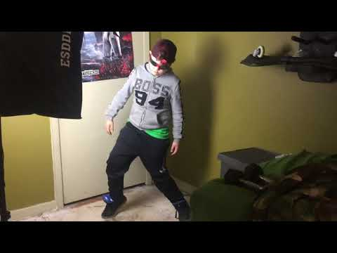 Preston robot dancing part 2 he is even better than last time