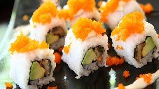 Приготовление суши видеоурок