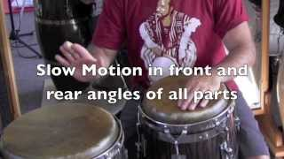 LESSON PREVIEW: Mozambique Conga Parts Traditional Cuban Style from Pello El Afrokan