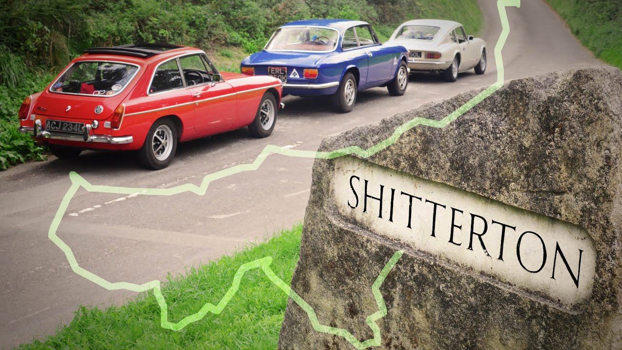 Three Classics tour Dorset - Finding Hilarious Road Signs