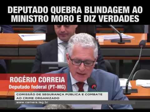 DEPUTADO QUEBRA BLINDAGEM AO MINISTRO MORO E DIZ VERDADES