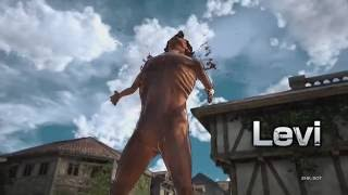 Attack on Titan - Levi Gameplay