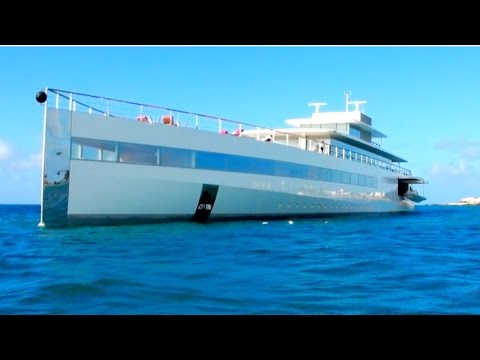 "Ever Seen Steve Jobs MEGAYACHT ""Venus""? Here it is in St Maarten, CARIBBEAN!"