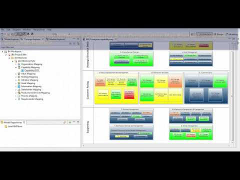 How To Do Capability Mappings With Iris Business Architect