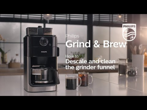 Philips Grind Brew How To Clean And Descale Youtube