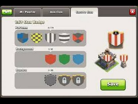 Clash Of Clans | How To Create A Clan And Invite Players.