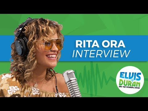 "Rita Ora Dishes on Writing ""Your Song"" with Ed Sheeran & Her Crush on Prince Harry"