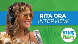 """Rita Ora Dishes on Writing """"Your Song"""" with Ed Sheeran & Her Crush on Prince Harry"""