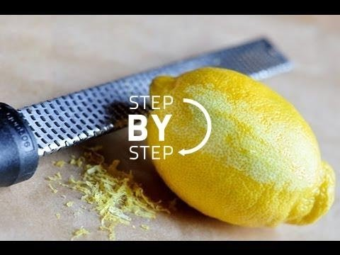 How to Zest a Lemon Like a Pro OR Easy Way to Zest a Lemon