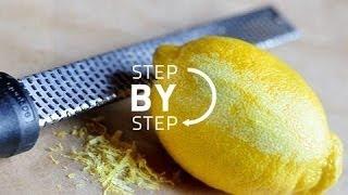 How To Zest A Lemon, Lemon Zest, Zest Of Lemon, What Is Lemon Zest, How Do I Zest A Lemon?