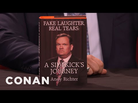 Andy Richter's New BestSelling Memoirs   CONAN on TBS