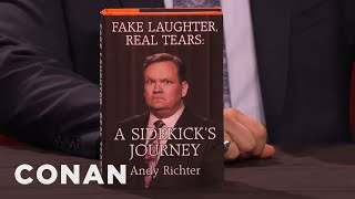 Andy Richter's New Best-Selling Memoirs  - CONAN on TBS