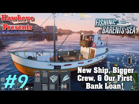 Fishing Barents Sea - New Ship, Bigger Crew, & Our First Bank Loan!