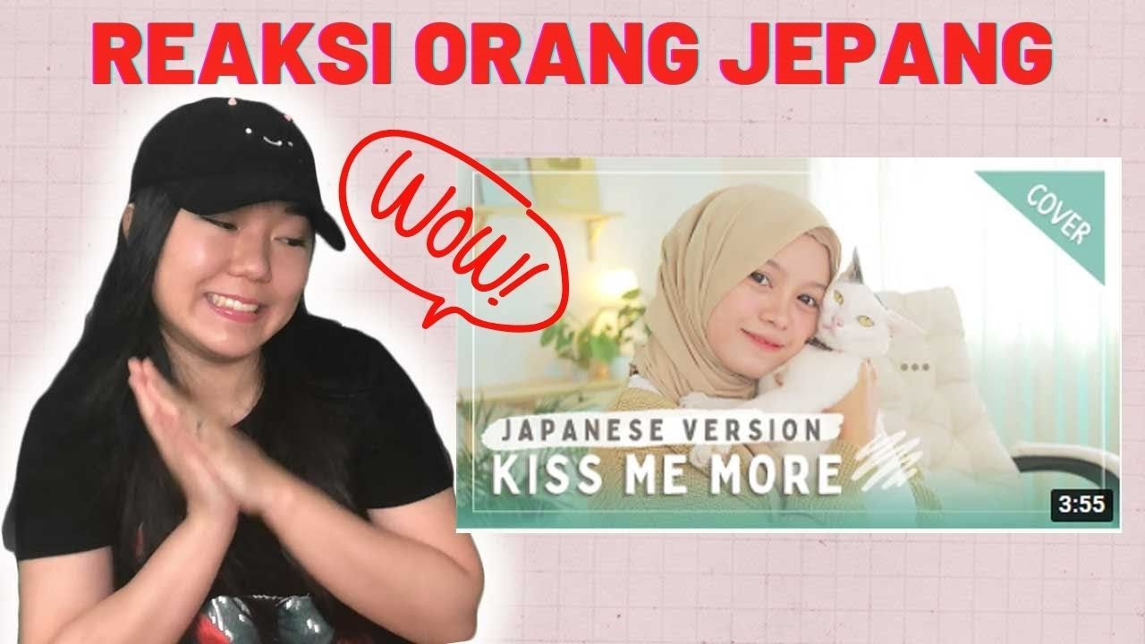 Japanese reacts to 【Rainych】 Kiss Me More (Doja Cat ft SZA) - Japanese Version (cover)