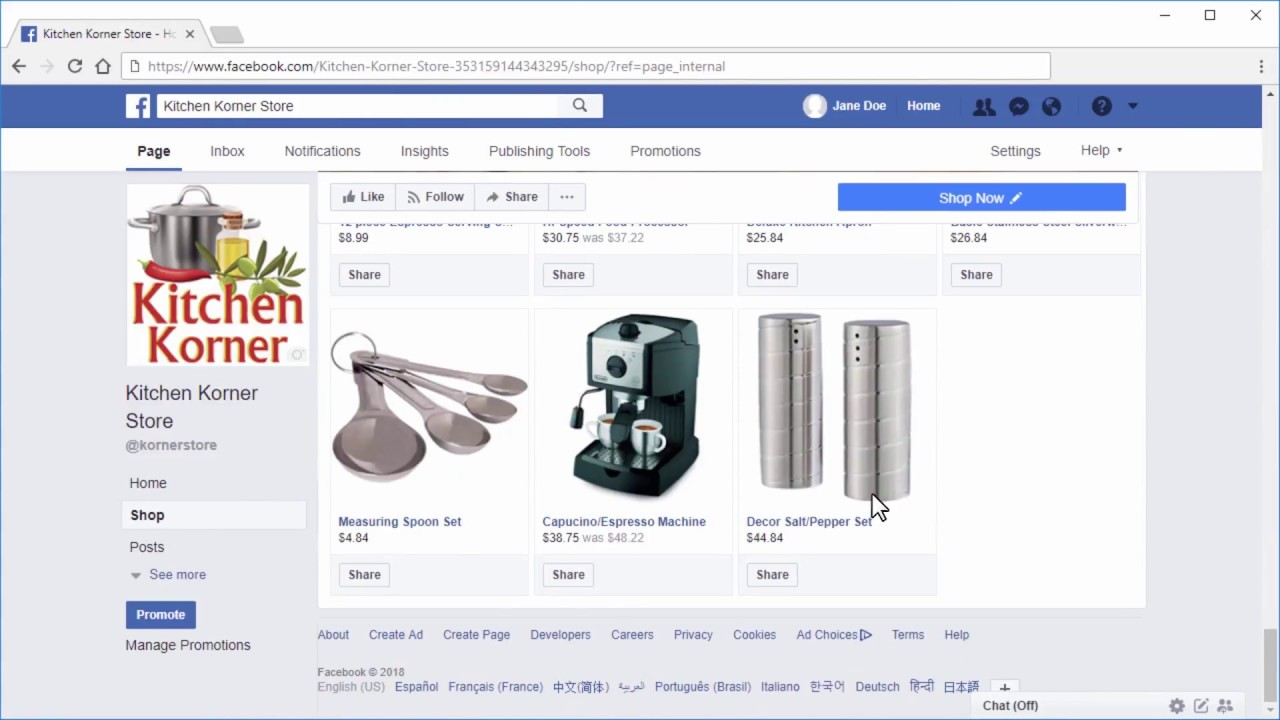 Tutorial Integrating Facebook Shop With Your 3dcart Store Youtube