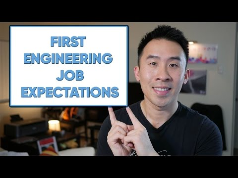 First Engineering Job Expectations