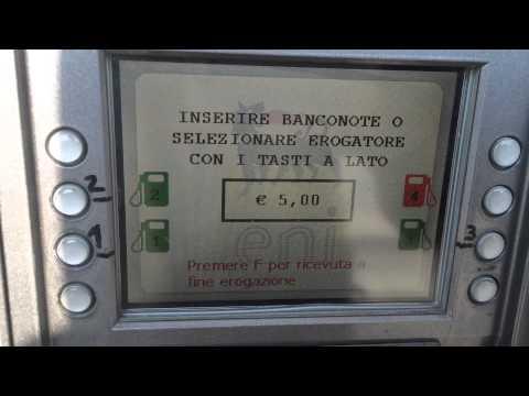 видео: Сан Ремо - Как заправить автомобиль в Италии без оператора