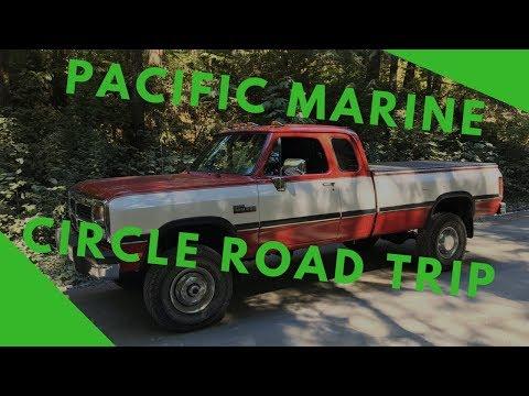 Pacific Marine Circle Road Trip