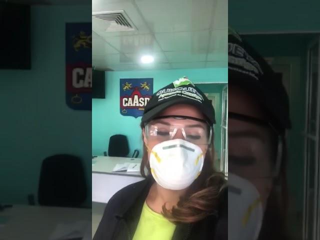 Karen Ricardo acude a la CAASD en busca de respuestas de por qué en SDE no hay agua