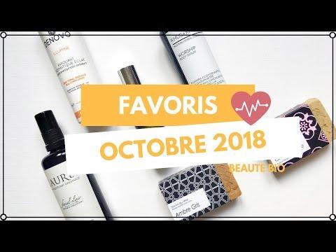 Favoris Beauté Bio | Octobre  2018