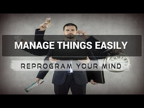 Management Skills affirmations mp3 music audio - Law of attr
