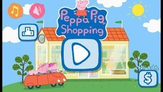 Peppa Pig In The Supermarket Свинка Пеппа в супермаркете играем вместе с Best Kids Apps обзор игры