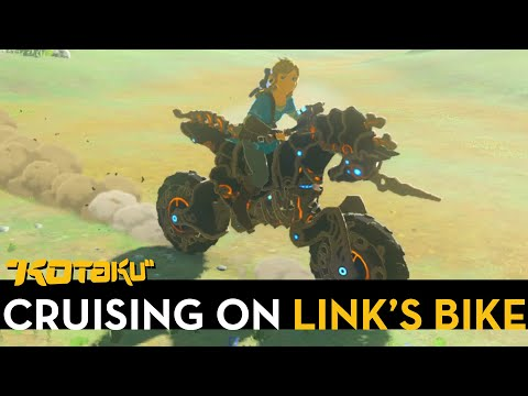 Riding Breath of the Wild's Awesome Motorcycle