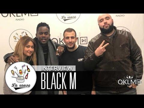 BLACK M – #LASAUCE SUR OKLM RADIO 27/11/17