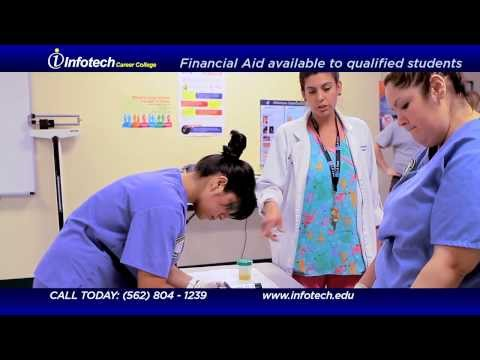 Medical Training Programs | Los Angeles | Infotech Health Career College Commercial