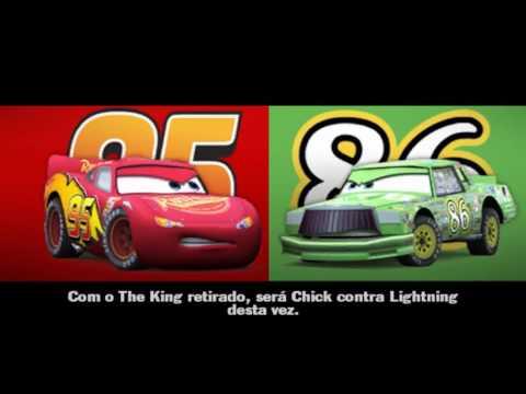 Completo Filme do jogo Dublado Portugues CARROS DISNEY CARS. RELÂMPAGO MCQUEEN PIXAR GAMEPLAY