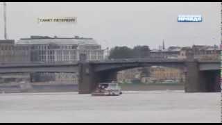 Интересные факты - Падающий Ту 124 посадили на Неву прямо в центре Ленинграда