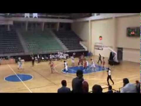 Sean carter turkey 2013-2014 basketball  pamuk vs  maliye