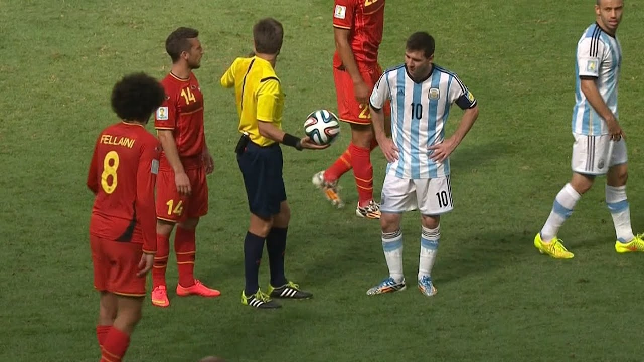 Download Lionel Messi vs Belgium (World Cup 2014) English Commentary - HD 1080i