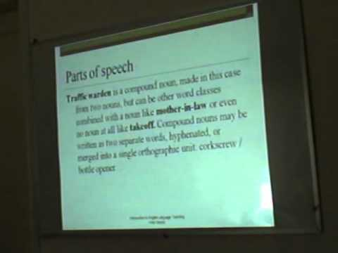 Word Classes - TEFL Greece