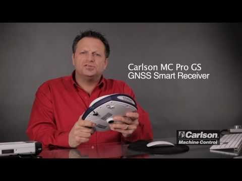 Carlson Machine Control GNSS/GPS Receiver - MC Pro GS Overview