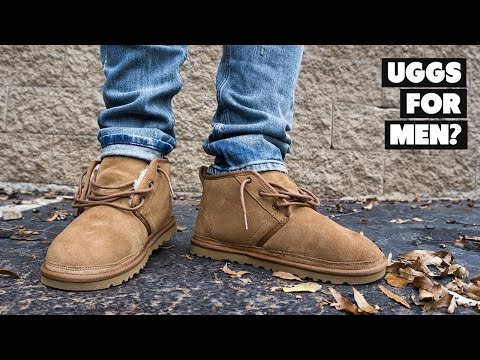 Are UGGS For Men? Chestnut Mens' UGG Neumel Review, Sizing + On Foot