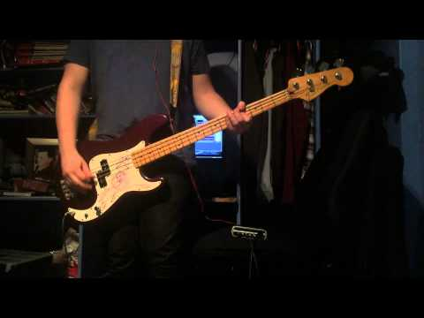 The Smashing Pumpkins - Today Bass Cover