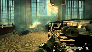 "Call Of Duty: Modern Warfare 3  pc gameplay 1st mission ""BLACK TUESDAY"" max settings"