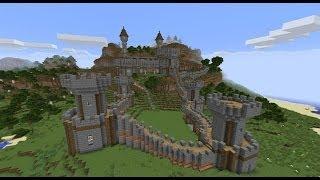 Minecraft - Постройки - Средневековый замок(В этом видео мы с вами посмотрим на мою постройку под названием