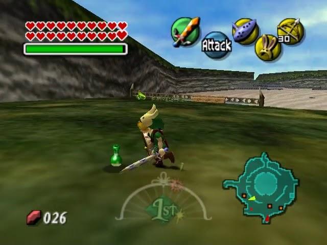 Jouez à Zelda, The Majora's Mask sur Nintendo 64 grâce à nos Bartops Arcade et Consoles Retrogaming