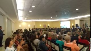 Palmas das Mulheres no Encontro Regional Joinville